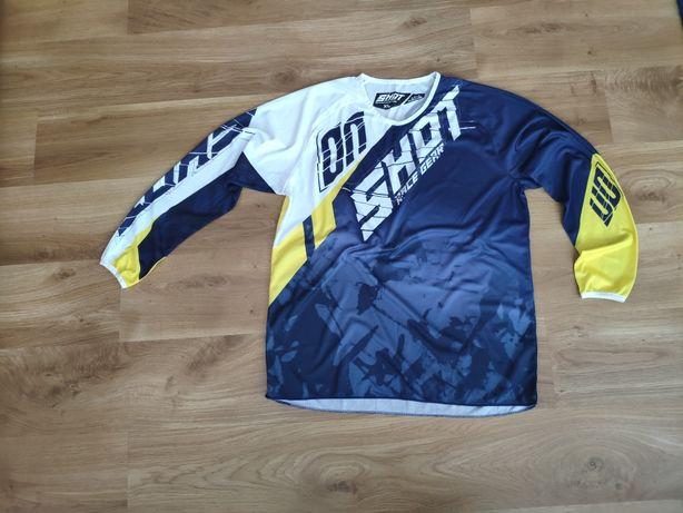 Bluzka bluza cross motocross enduro shot rozmiar xl-nowa