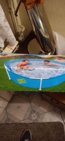 Basen ogrodowy dla dzieci, basen stelażowy 1.52cm x 38cm
