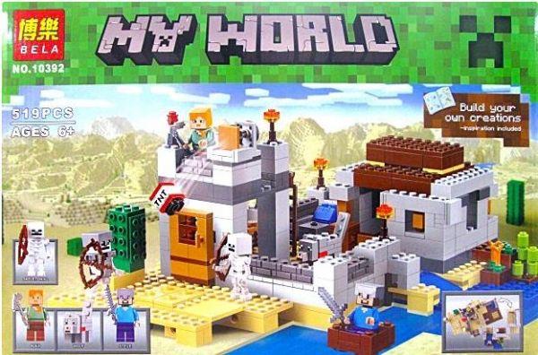 """Детский конструктор Bela """"Minecraft"""" 10392"""