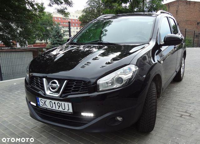 Nissan Qashqai QASHQAI po lifcie czarny, super stan/wyposażenie PANORAMA 123tyś km.