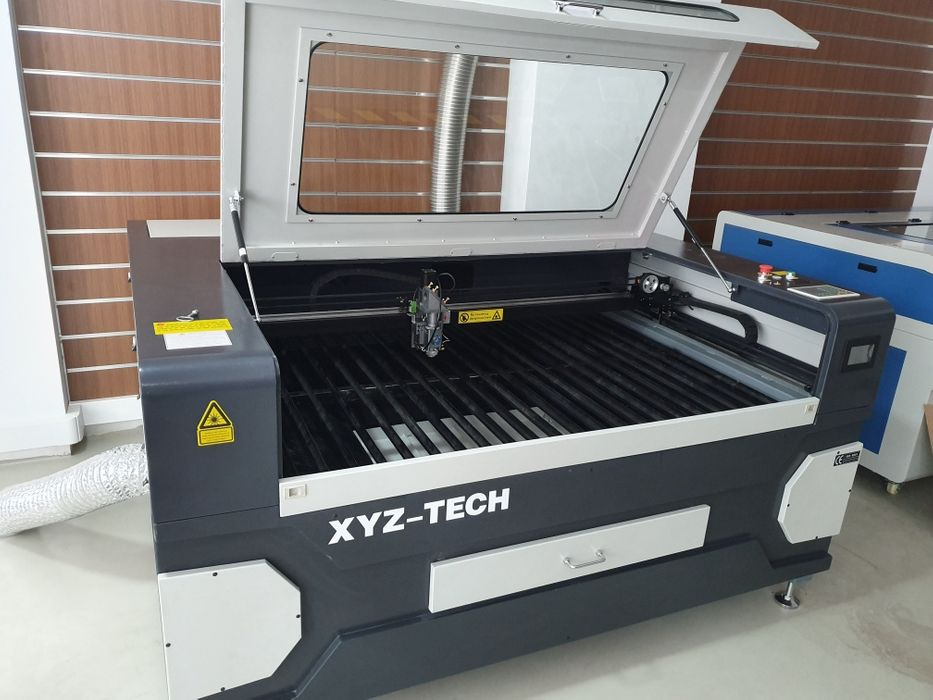 Máquina a laser CNC corte de metais e não-metais Co2+O2 Reci W8 Nogueira, Fraião E Lamaçães - imagem 1