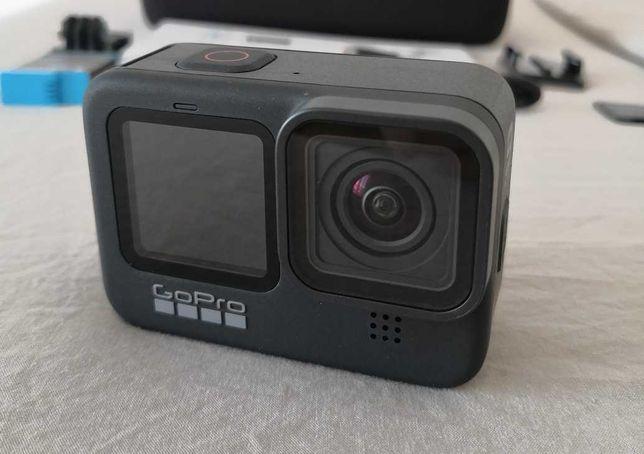 GoPro Hero 9 Black + Cartão 128GB + Acessórios
