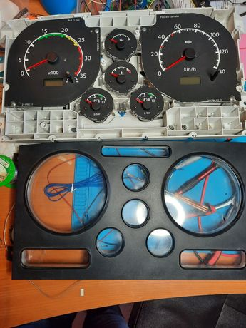 painel instrumentos reconstruído,  quadrante nissan cabstar/ atleon