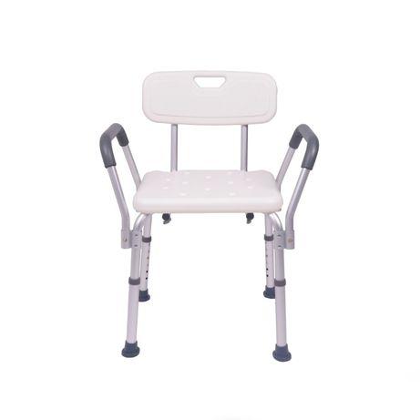Cadeira de Banho com Apoios de Braços