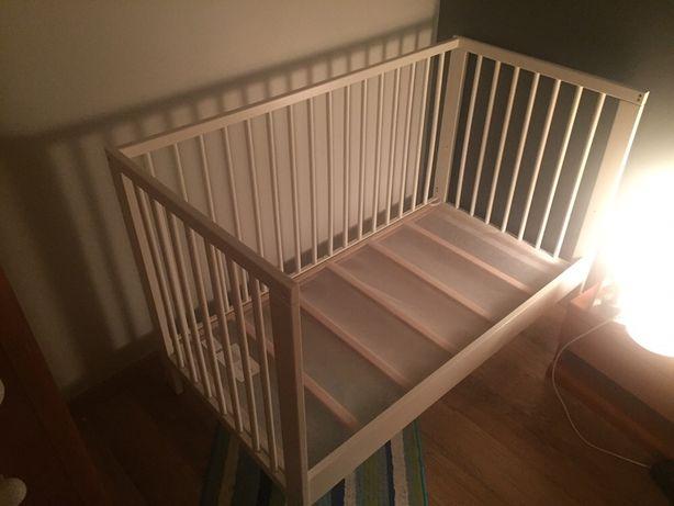 Łóżeczko dziecięce IKEA Gulliver stan BDB