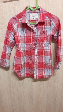 koszula w kratkę damska 110 H&M