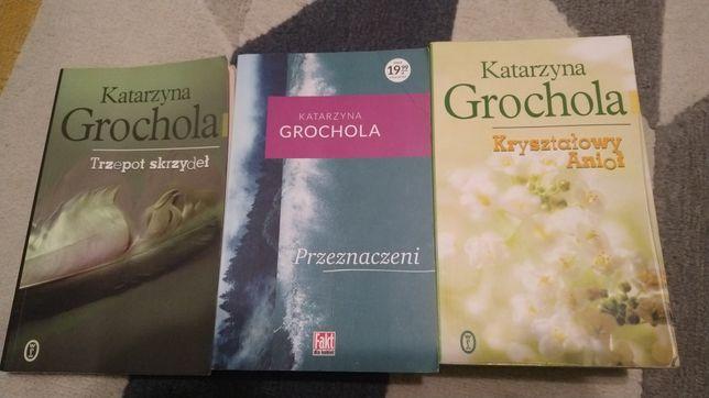 Katarzyna Grochola zestaw trzech ksiazek