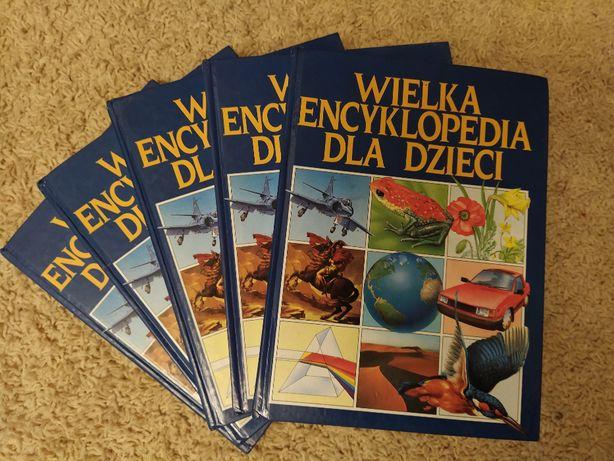 Wielka Encyklopedia Dla Dzieci__5 tomów