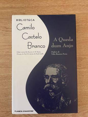 """Livro da colecção """"Biblioteca de Camilo Castelo Branco"""" em capa dura"""