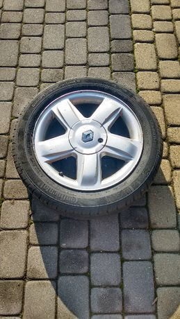 Sprzedam komplet alufelg Renault 4szt., komplet opon gratis