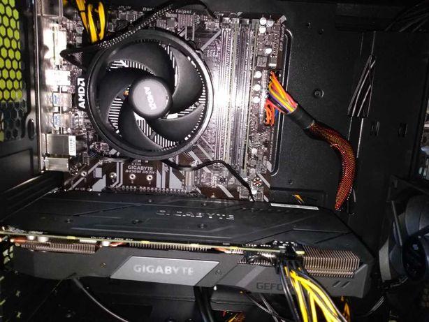 Ryzen 5 1600af, RAM 16GB, GIGABYTE B450M DS3H