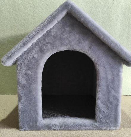 Будка домик из меха для собаки . Ручная работа. Vilka-849