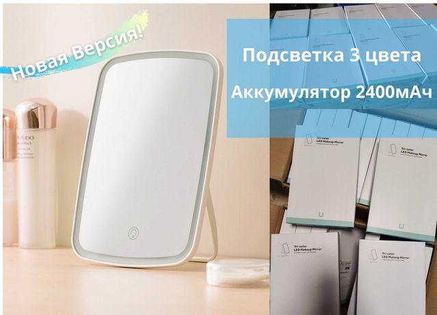 Зеркало для макияжа с подсветкой Xiaomi Jordan Judy Tri-color NV505