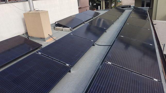Fotowoltaika 10kWp dach płaski