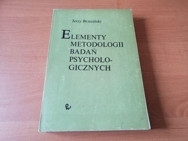 Elementy metodologii badań psychologicznych Jerzy Brzeziński