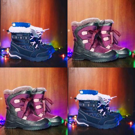 Зимние ботинки для девочек (немецкий производитель Lupilu)