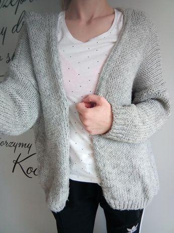 Swetr, sweterek, kardigan, narzutka, wiosenny, jesienny, oversize