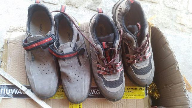 2 pary buty robocze ochronne.