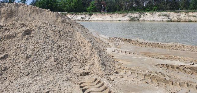 Piach,piasek,płukany z transportem do 27 ton