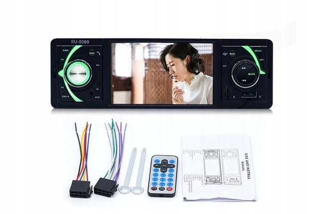 radio samochodowe 1din mp3,mp5,usb bluetooth+kamer