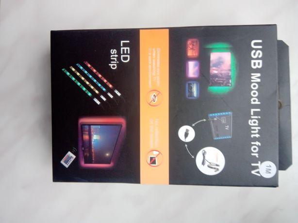 Taśma LED RGB TV 1m i 2m