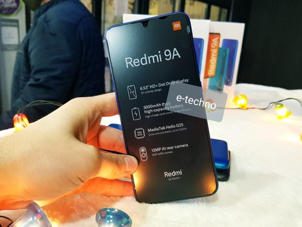 Xiaomi redmi 9/9С/9А/Note9 Pro/Note9/Redmi 32Gb\64gb\128Gb Новые !