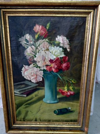 Pintura a óleo pelo artista belga Franz Geerts
