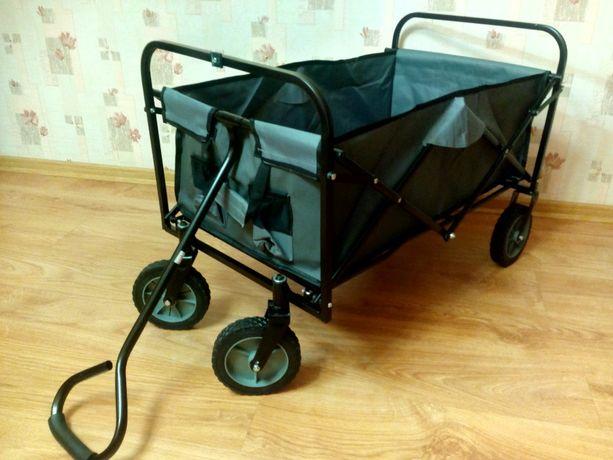 NAJTANIEJ Wózek Transportowy Składany Do 70kg Wysyłka