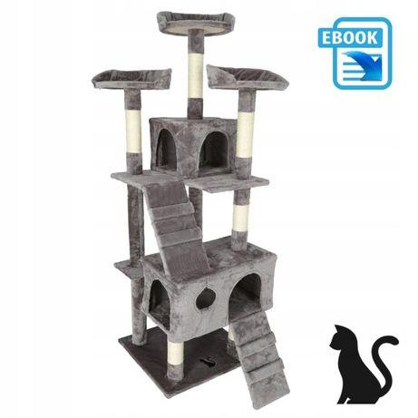 Домик для кота когтеточка 170 см 5 уровней ПОЛЬША В Наличии