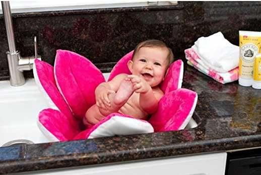 Плюшевая мягкая ванночка Blooming bath