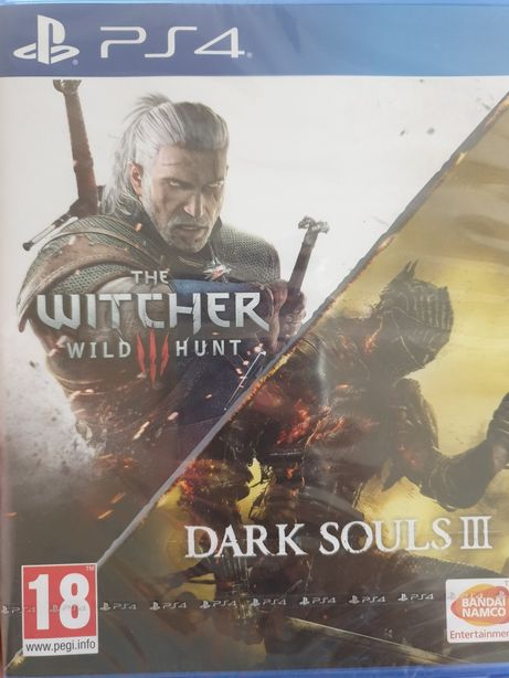 Gra na PS4 The Witcher Wild Hunt oraz Dark Souls III