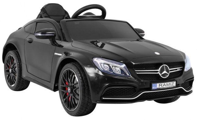 Najnowszy samochód Mercedes Benz C63 AMG na akumualtor