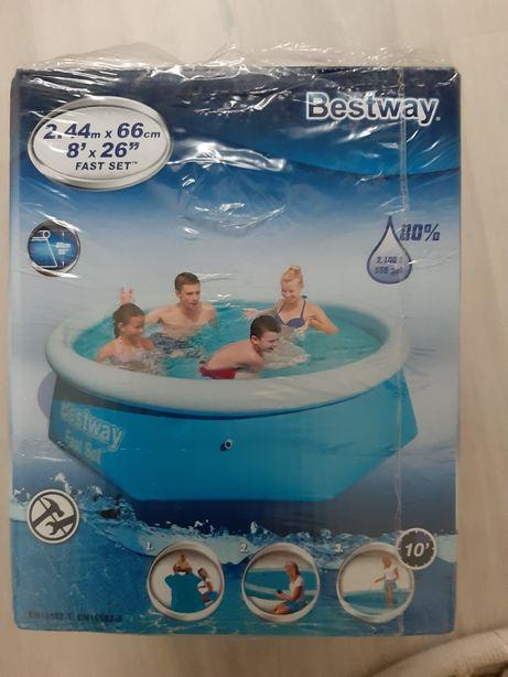 Basen Bestway 2,44x66 cm nowy