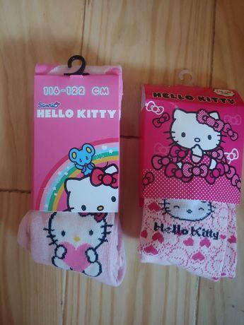 Nowe rajstopki z kotkiem Hello Kitty 116-122
