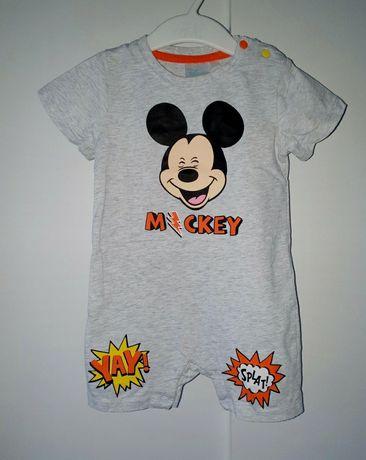 Cool Club Smyk Rampers Disney r.86 myszka miki mickey piżamka