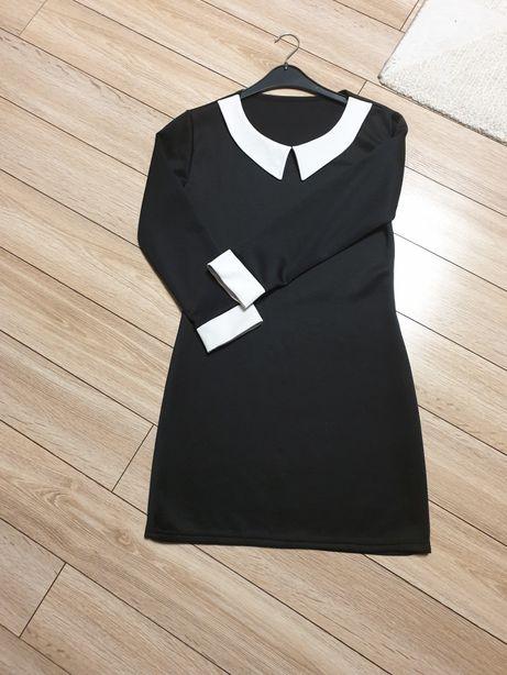 Sukienka S czarna święta biuro
