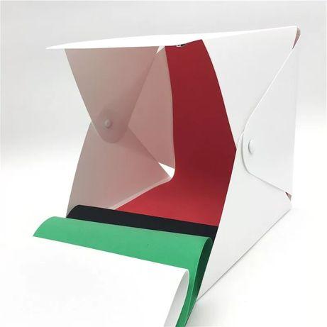 Лайткуб, фотобокс с Led освещением 40×40 cм +4 фона