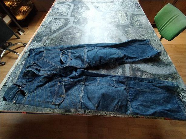 Jeansy spodnie motocyklowe 32 rozm S męskie jak nowe