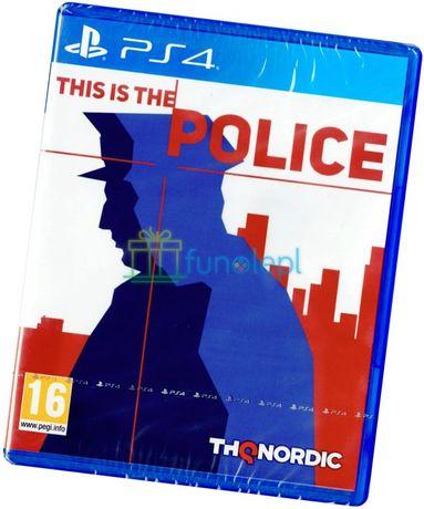 This is the Police PS4 Nowa Pudełkowa z Płytą