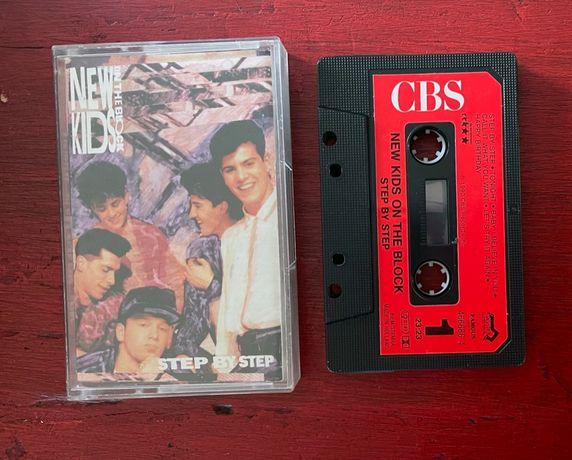 New Kids on the Block - Step By Step - MC Album CBS - 1990
