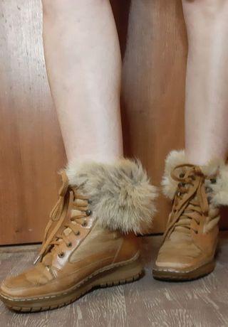 Зимові  жіночі ботинки