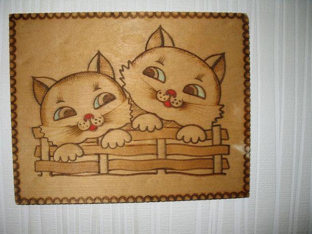 Декоративные деревянные картинки .