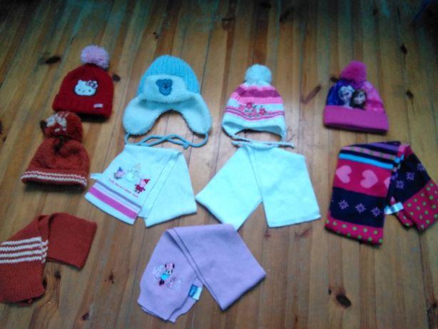 czapki 2--3-4-5at Anna i Elza Nowa, Hello Kitty