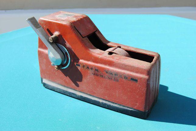 Máquina antiga industrial Tack Taper Model nº 20