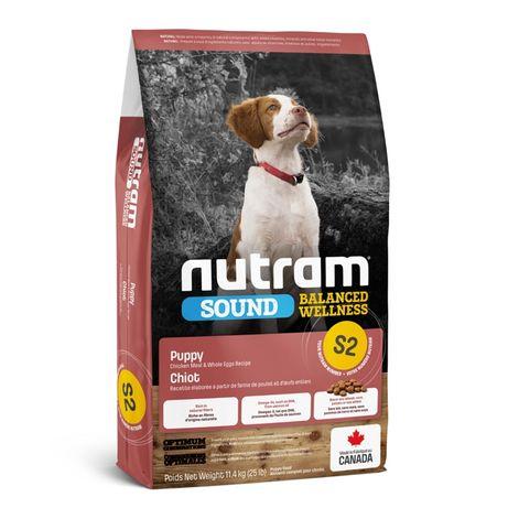 Сухой корм Nutram (Нутрам) S2 Wellness Puppy для щенков 11,4 кг