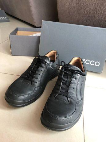 Кожаные туфли, 45 размер, почти новые, фирма ECCO