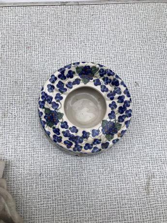 Ceramika Bolesła. Podgrzewacz da czajnika unikat polecam