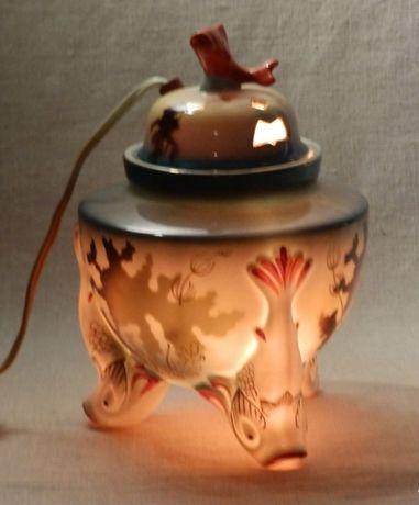 Светильник-ночник «рыбки» старая Баранівка БЗ 1950-е фарфор СССР