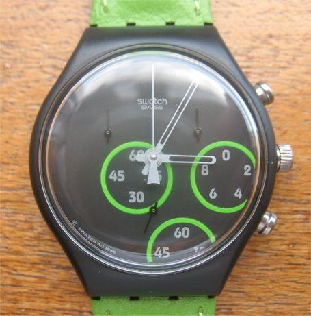 Swatch Chrono Excentric SCB117 - 1 9 9 7 - NUNCA USADO