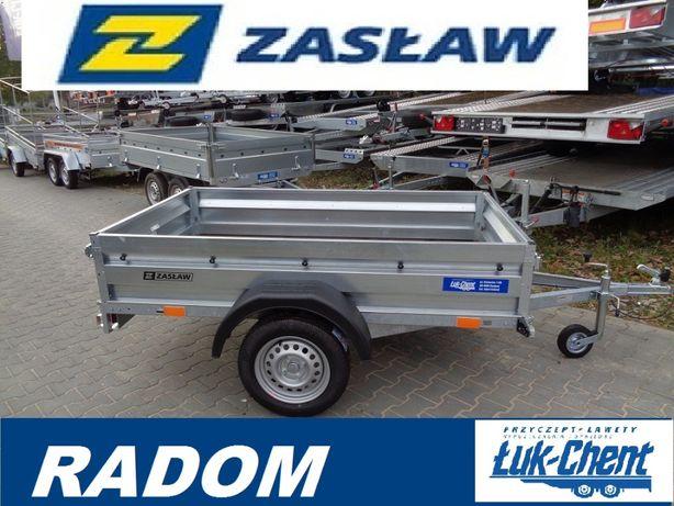 Przyczepa Zasław uchylna 2,05x1,23 1 OŚ